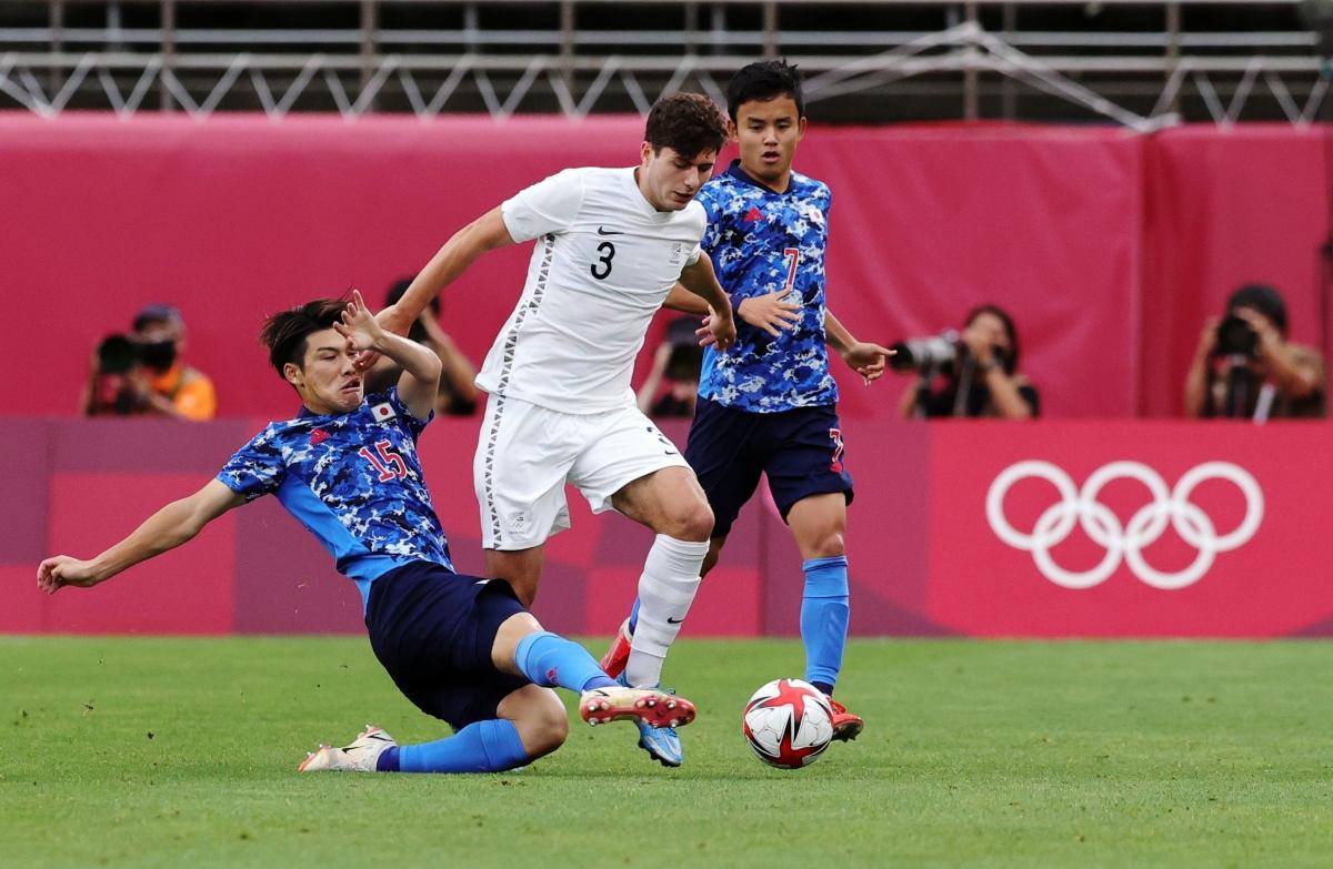 Nhật Bản và New Zealand sẽ phải bước vào hiệp phụ sau khi hòa nhau 0-0 trong hai hiệp thi đấu chính thức. (Ảnh: Reuters).