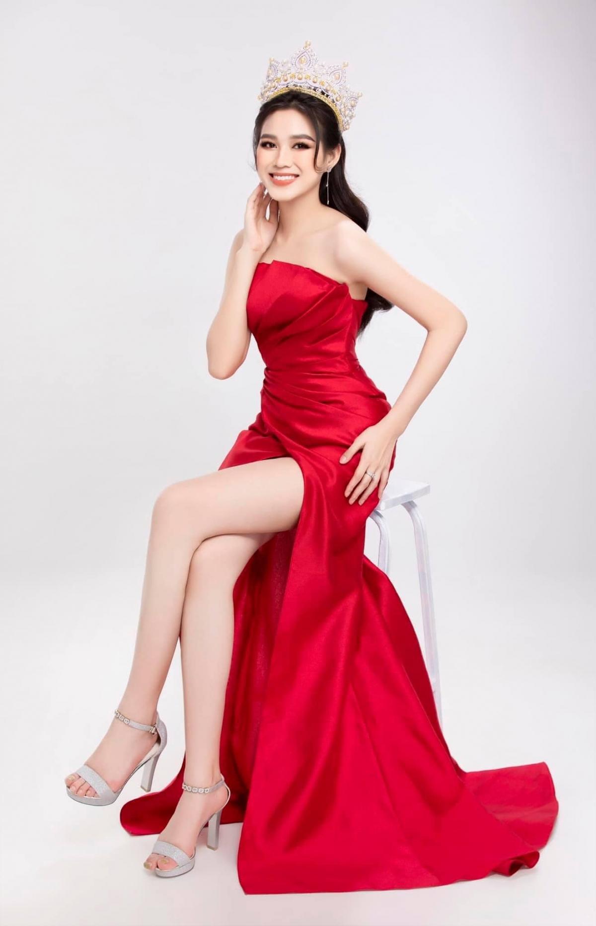 Hiện tại, nàng Hậu đang tập trung tập luyện để chuẩn bị cho cuộc thi Miss World 2021 sẽ diễn ra vào tháng 11 tới ở Puerto Rico.