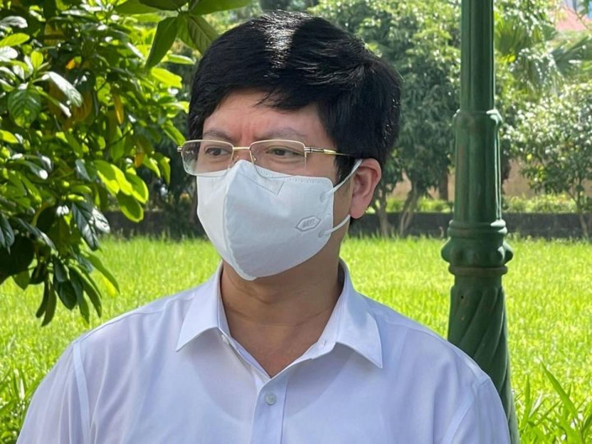 Ths.BS Nguyễn Trọng Khoa, Phó Cục trưởng Cục Quản lý Khám, chữa bệnh (Bộ Y tế).