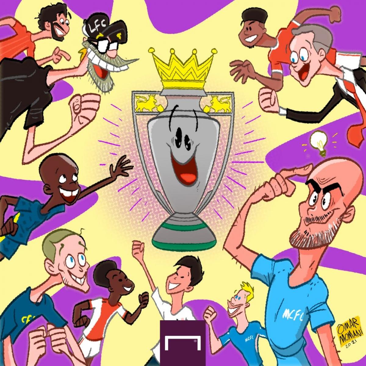 Cuộc đua vô địch Premier League mùa tới hứa hẹn rất căng thẳng. (Ảnh: Omar Momani)