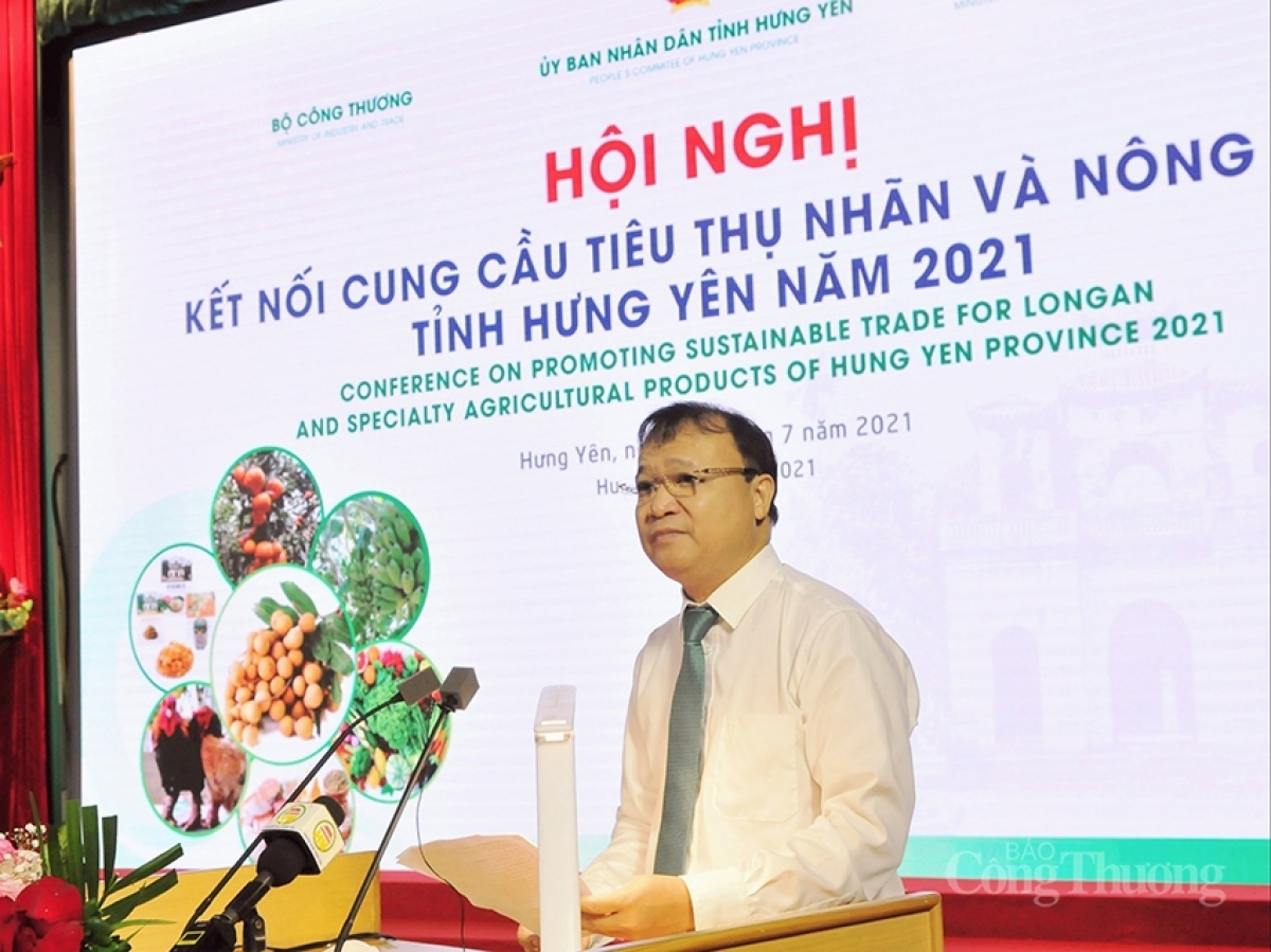 Deputy Minister of Industry and Trade Do Thang Hai addresses the event (Photo: Industry and Trade newspaper)