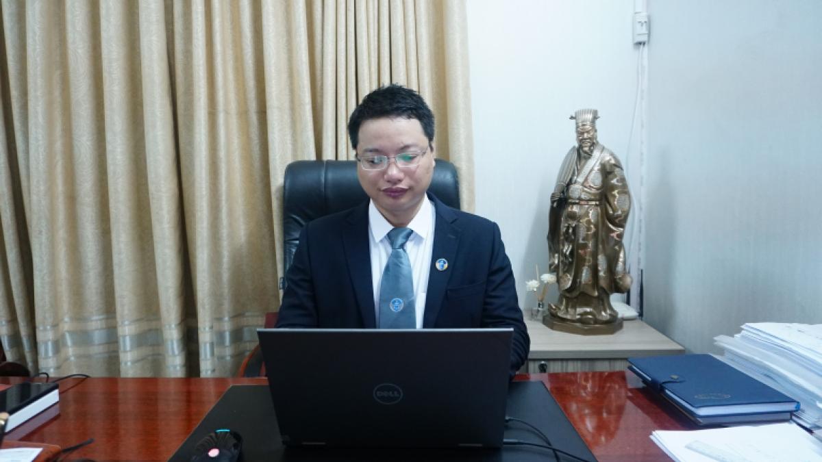 Luật Sư Nguyễn Đức Hùng – Phó giám đốc Hãng luật TGS( Đoàn Luật sư Hà Nội)