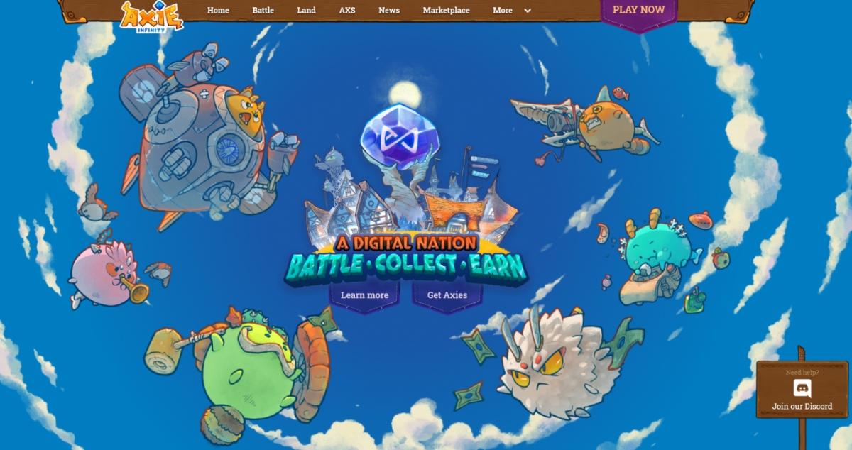 Người chơi sẽ nuôi, lai tạo và cho các Axie chiến đấu trong game.