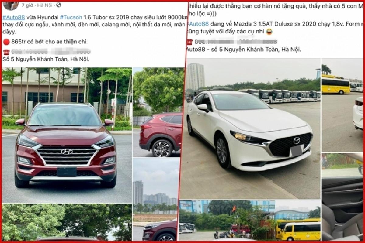 Nhân viên Auto88 tích cực tìm kiếm khách hàng trên các trang mạng xã hội.