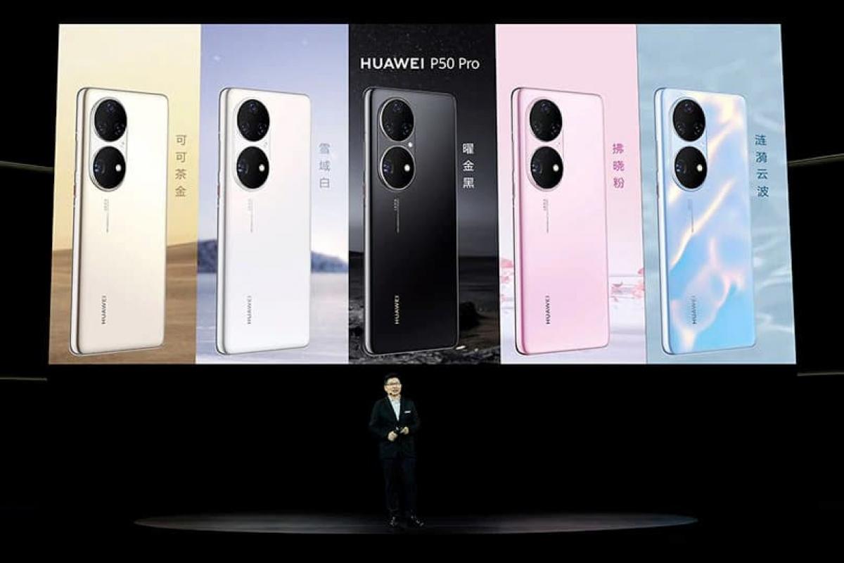 Do những hạn chế từ lệnh cấm của Mỹ, Huawei P50 Pro chỉ được phát hành với bản 4G.