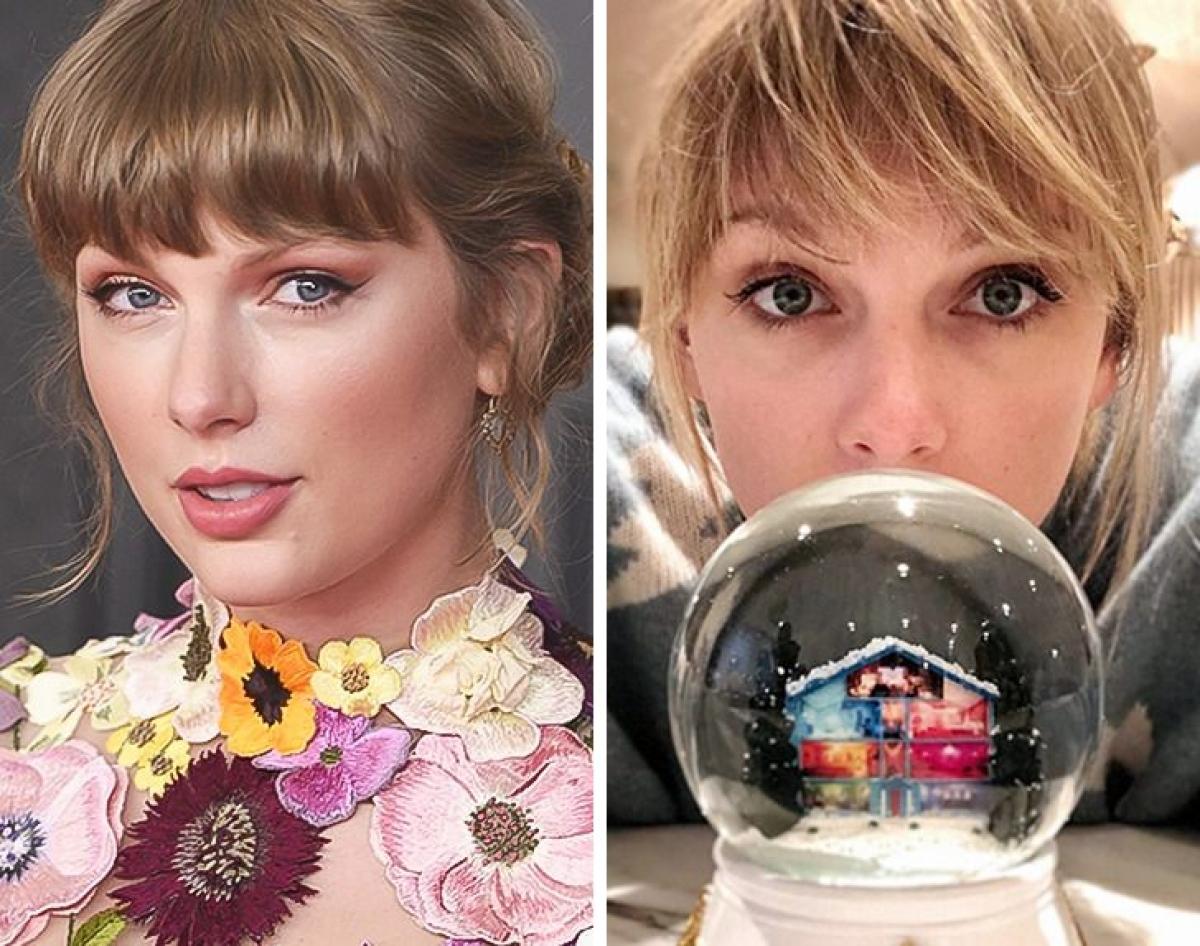 Taylor Swift - làm quả cầu tuyết:Taylor Swift thích làm quả cầu tuyết với bạn bè. Những quả cầu này sau đó sẽ được cô tặng cho người thân, bạn bè vào dịp Giáng sinh.