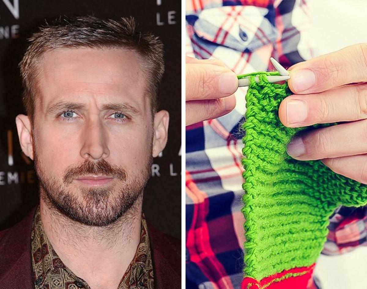 Ryan Gosling - đan len:Ryan Gosling từng mô tả một ngày hoàn hảo của mình là khi anh ấy được đan len. Đó sẽ là món quà tuyệt vời nam diễn viên dành tặng những người thân yêu.