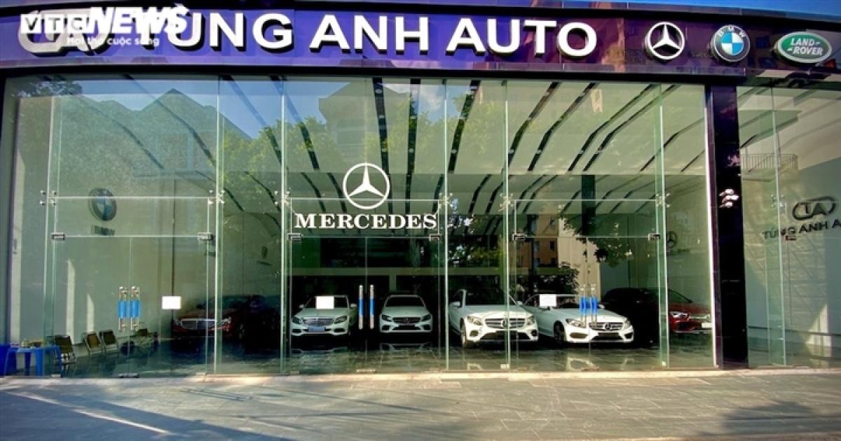 Tùng Anh Auto nằm trên đường Nguyễn Văn Hưởng, Long Biên.