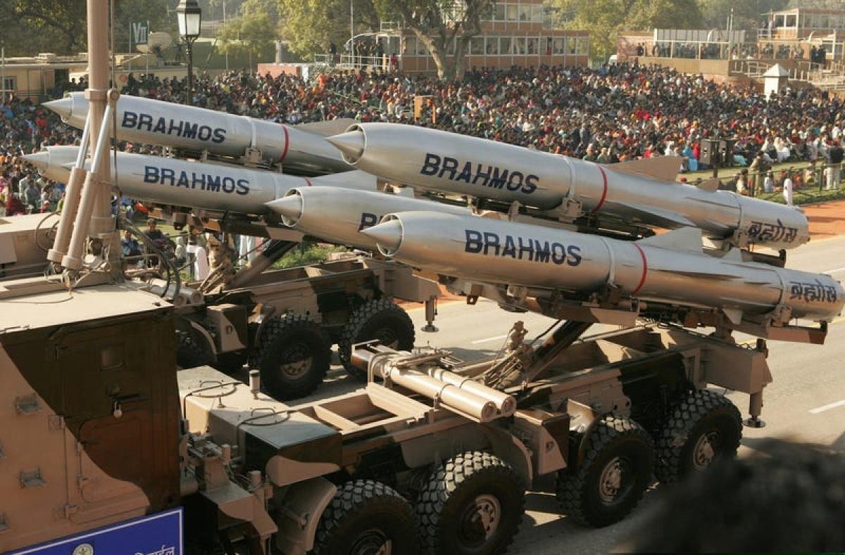 Tên lửa Bramos của Ấn Độ. Ảnh: Reuters