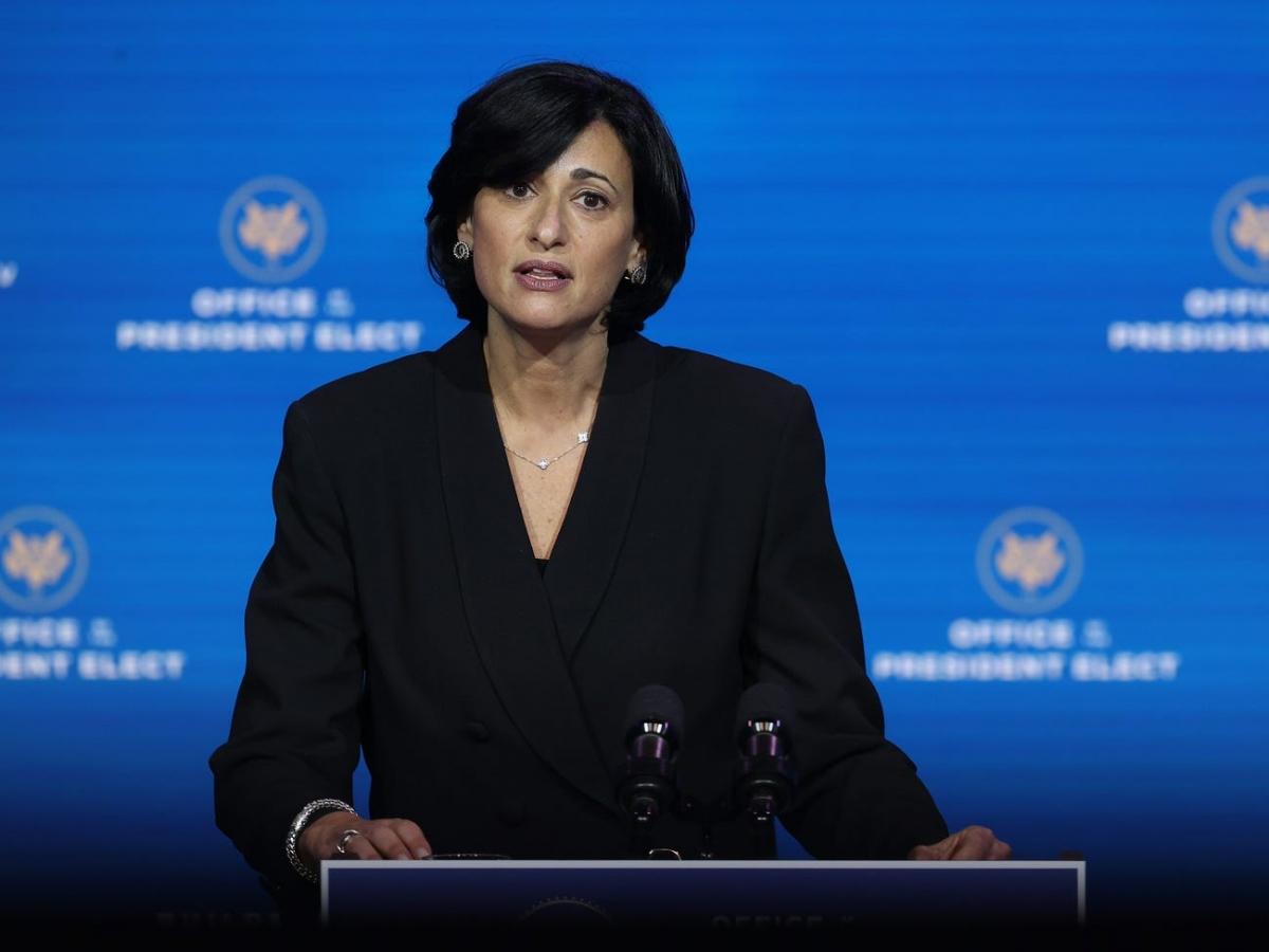 Rochelle Walensky - Giám đốc Trung tâm Kiểm soát và Phòng ngừa Dịch bệnh Mỹ. Ảnh: Getty Images