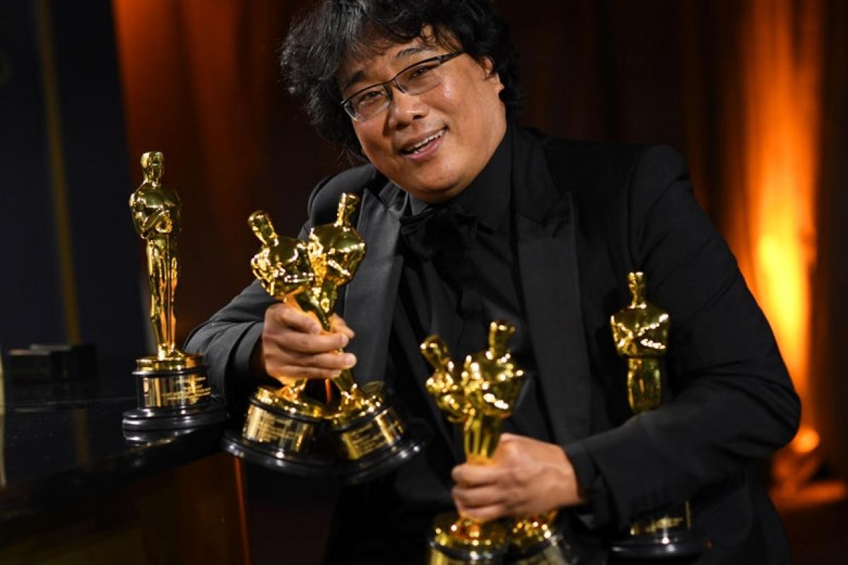Từ chiến thắng vang dội tại Cannes, đạo diễn Bong Joon Ho đã làm nên lịch sử với 4 giải thưởng Oscar cho bộ phim 'Ký sinh trùng'.