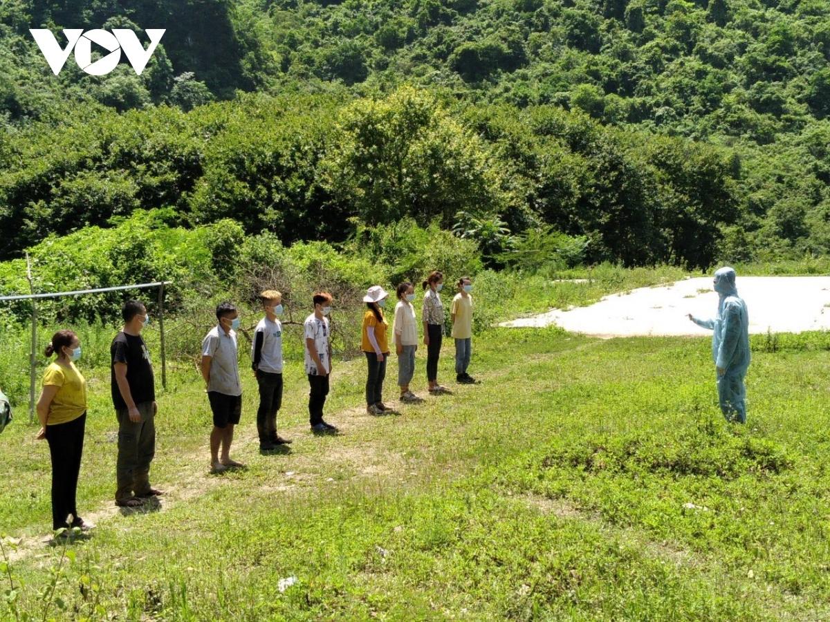 Nhóm công dân nhập cảnh trái phép tại Cao Bằng (Hình minh họa)