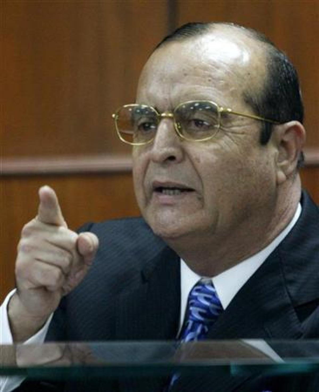 Cố vấn cá nhân của cựu Tổng thống Peru,người đứng đầu Cơ quan Tình báo Peru - Vladimiro Montesinos.Ảnh: Reuters