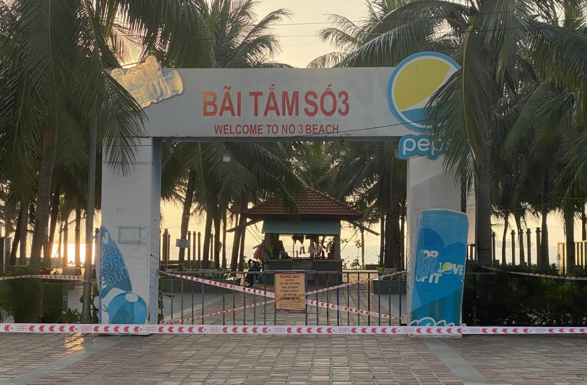 Đà Nẵng dừng tắm biển và các hoạt động thể thao.