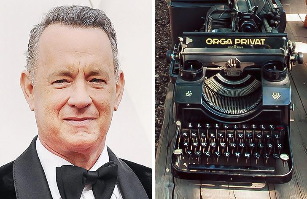 Tom Hanks - sưu tập máy đánh chữ cổ điển:Nam diễn viên có sở thích sưu tập máy đánh chữ cổ điển từ trước cả khi nổi tiếng. Những cỗ máy này là sự kết hợp hoàn hảo giữa kỹ thuật và nghệ thuật. Hiện bộ sưu tập của anh có khoảng 120 máy đánh chữ.
