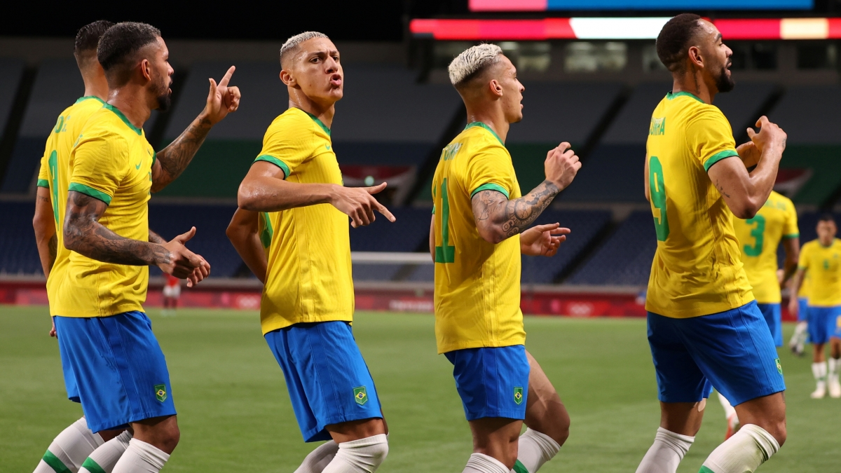 Brazil vẫn đang hoàn toàn lấn lướt. (Ảnh: Reuters).