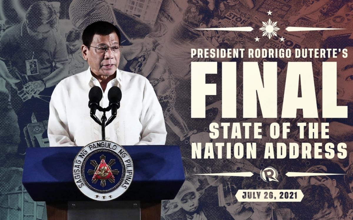 Tổng thống Duterte. Ảnh: Rappler.