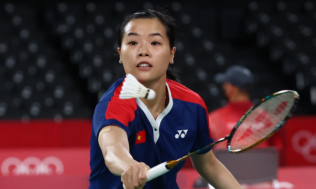 Như vậy, Thùy Linh kết thúc Olympic Tokyo với vị trí nhì bảng P (2 thắng, 1 thua). Dù không thể đi tiếp nhưng đây là kết quả phù hợp với mục tiêu mà tay vợt Việt Nam đề ra trước Thế vận hội. (Ảnh: Reuters).