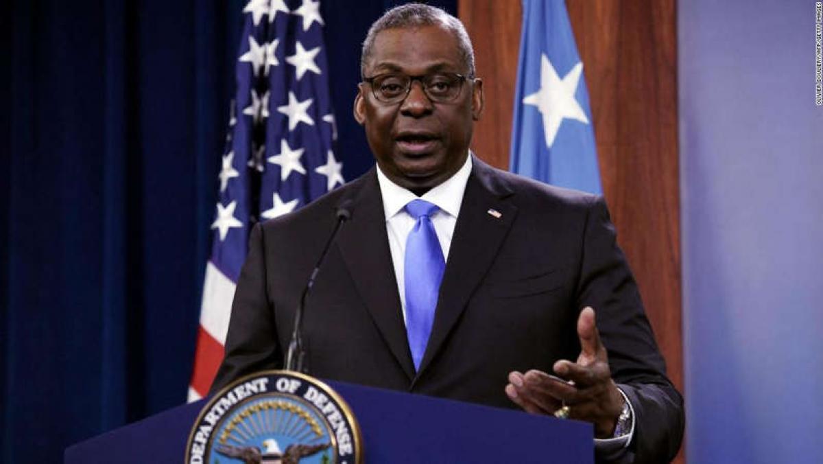 Bộ trưởng Quốc phòng Mỹ Lloyd Austin. Ảnh: AFP