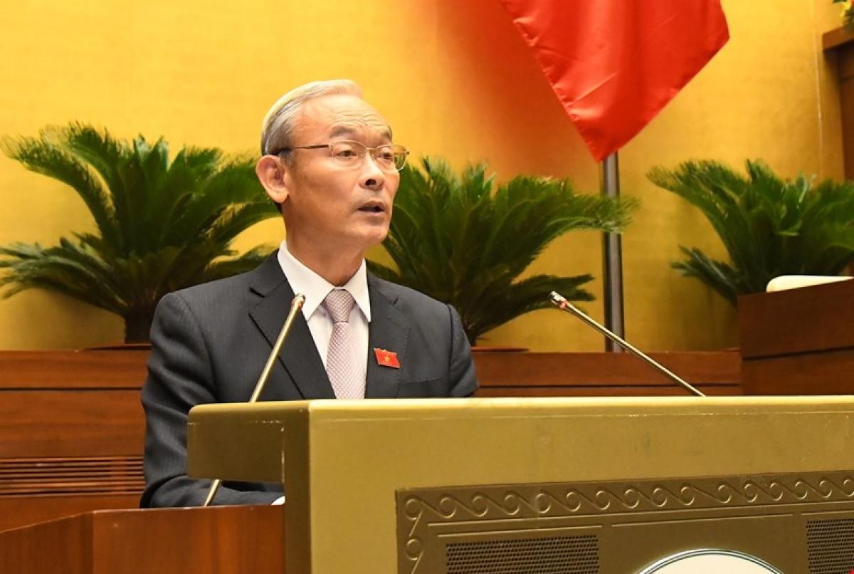 Chủ nhiệm Ủy ban Tài chính - Ngân sách của Quốc hội Nguyễn Phú Cường