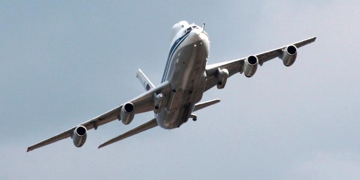 """Máy bay mới của Nga sẽ thay thể những máy bay """"Ngày tận thế"""" Il-80 hiện tại. Ảnh: AP"""