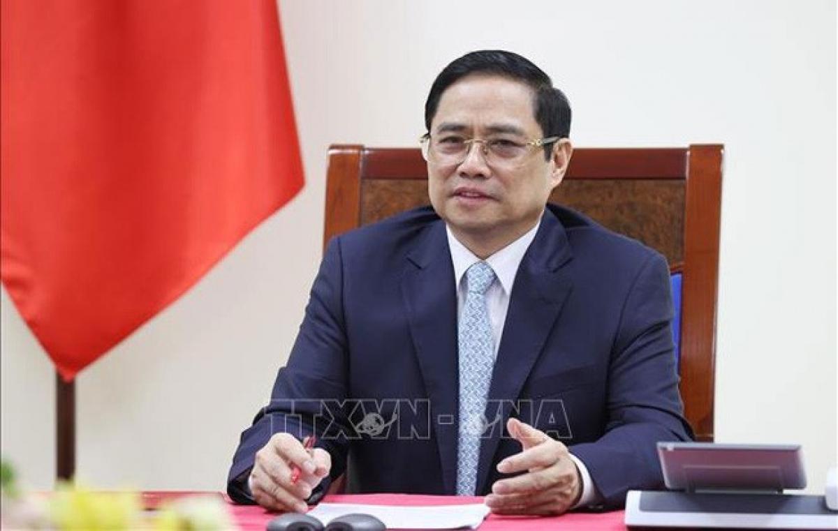 Thủ tướng Chính phủ Phạm Minh Chính - (Ảnh: TTXVN)