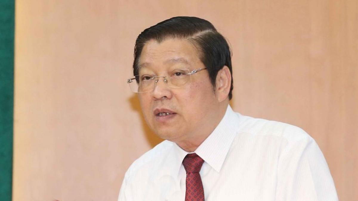 Trưởng Ban Nội chính Trung ương Phan Đình Trạc