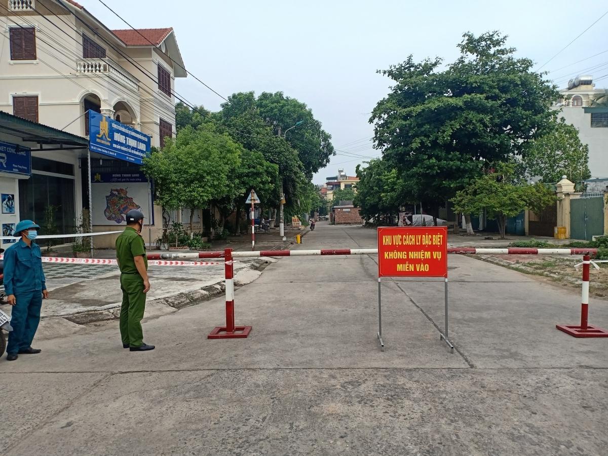 UBND thị xã Quảng Yên phong tỏa khu vực có ca F0.