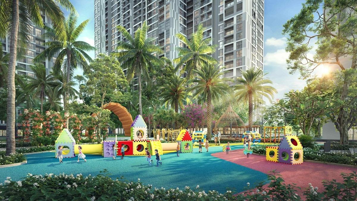 The Pavilion phong cách Singapore mở ra cuộc sống tràn ngập năng lượng tích cực với chuỗi các sân vận động, sân chơi giữa không gian xanh