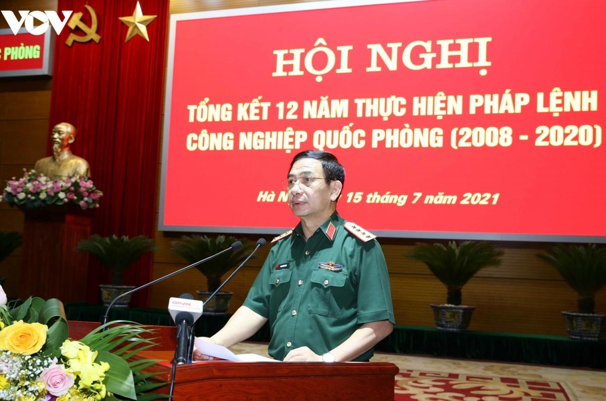 Đại tướng Phan Văn Giang, Bộ trưởng Bộ Quốc phòng.