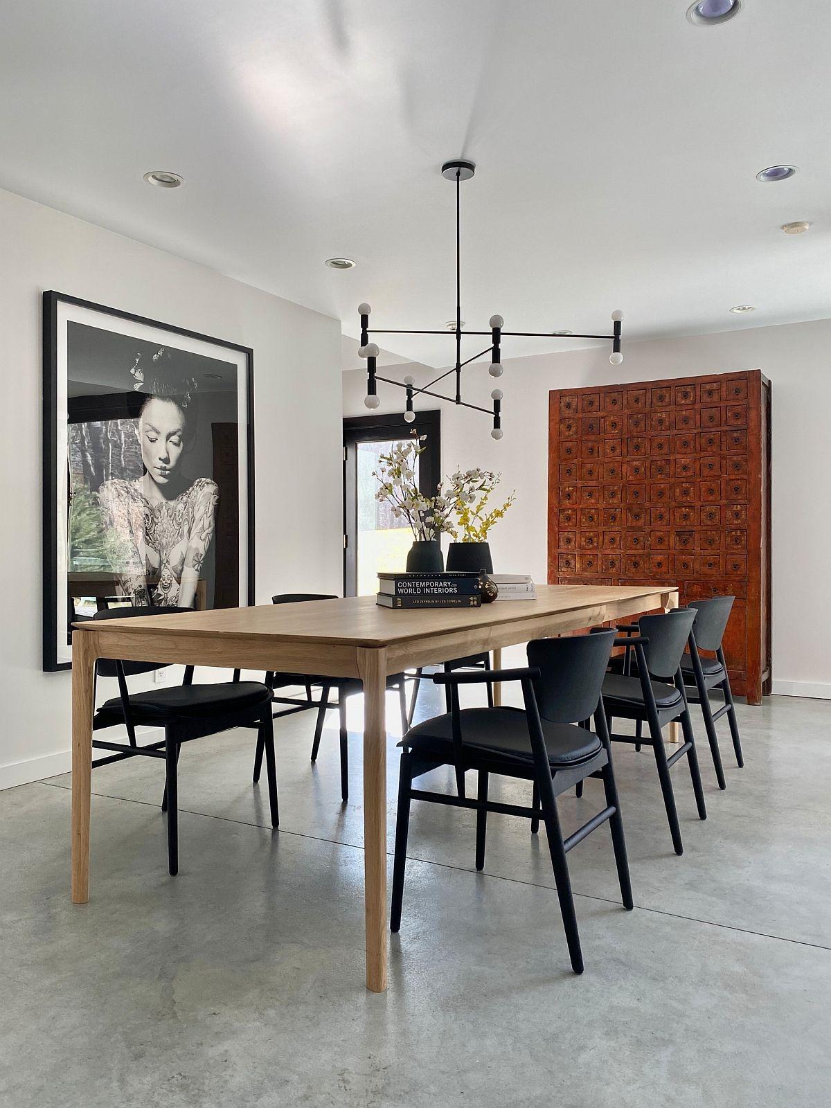 Tạo một sắc thái riêng cho không gian ăn uống nhà mình bằng những tác phẩm nghệ thuật treo tường.