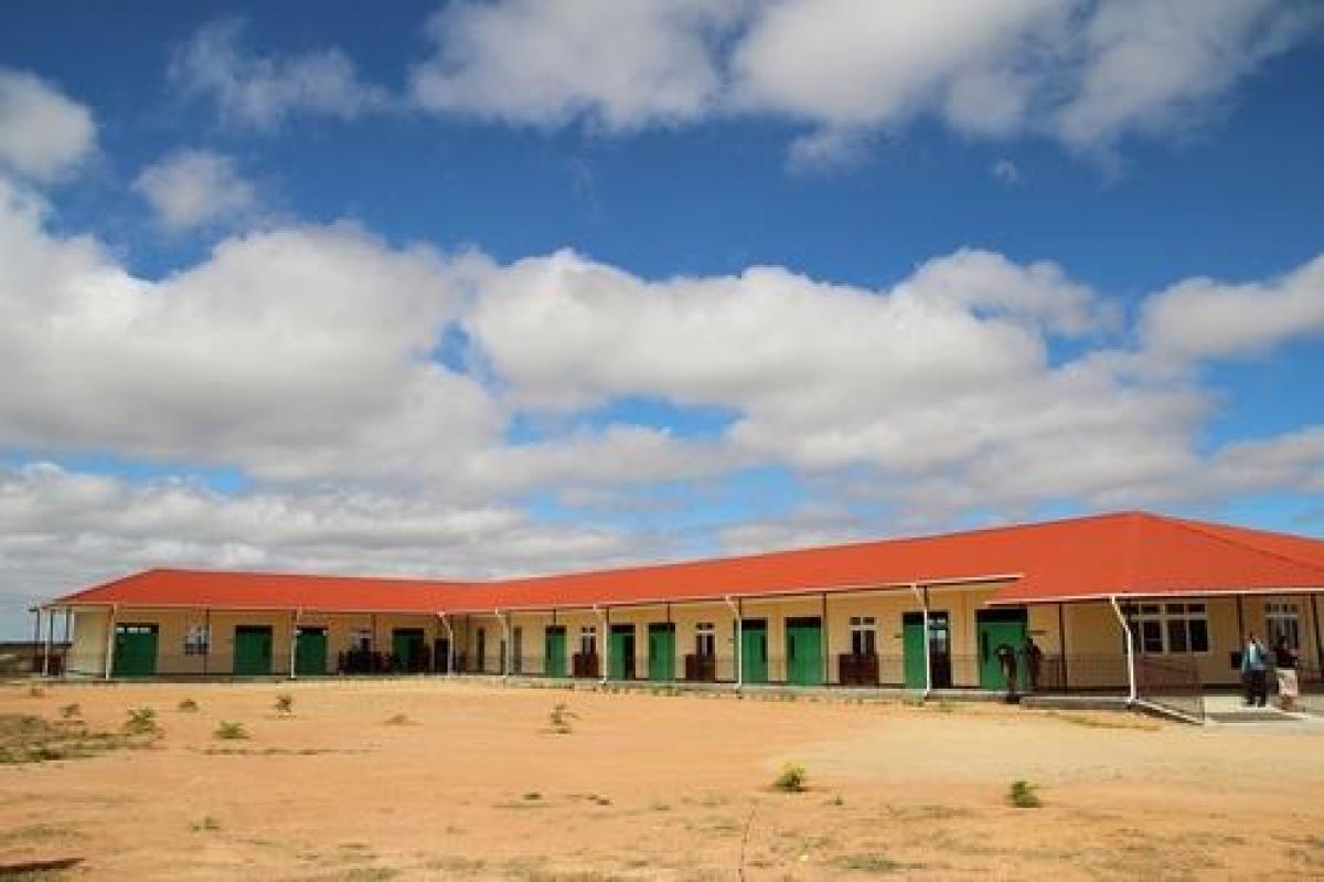 Ngôi trường Singida New Vision School được xây tại Tanzania năm 2018. Nguồn: Miral Welfare Foundation/Yonhap