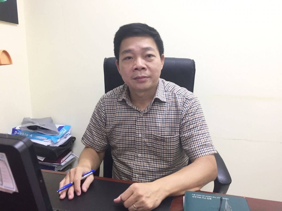 Ông Trần Văn Dũng – Vụ trưởng Vụ nghiệp vụ II – Tổng cục Thi hành án dân sự (Bộ Tư pháp)