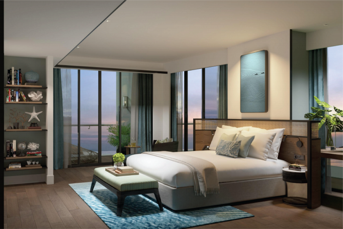 Nội thất phòng Suite Ocean View
