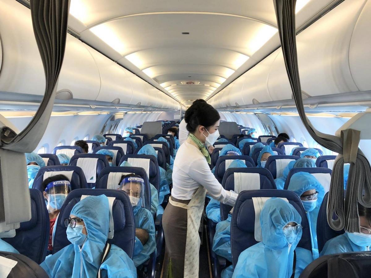 Bamboo Airways đón công dân Gia Lai trở về từ TP.HCM