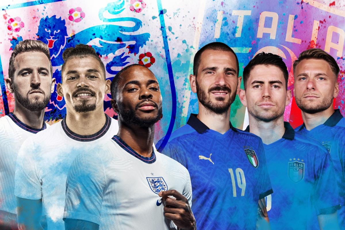 Xem trực tiếp chung kết EURO 2020: Italia vs Anh ở đâu?