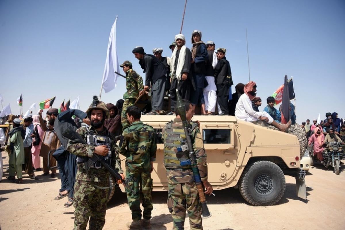Kể từ đầu tháng 5, lực lượng Taliban đã khởi động một đợt tấn công mới. Ảnh: New York Times.