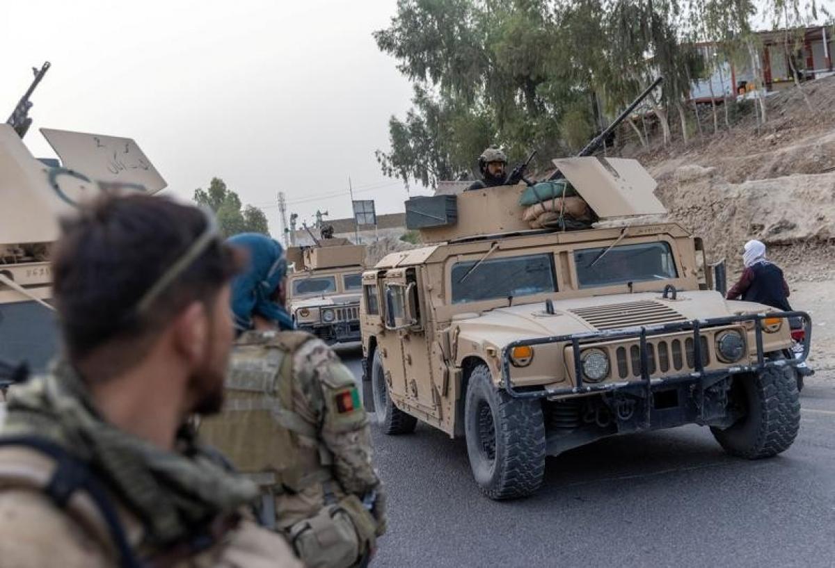 Lực lượng đặc nhiệm Afghanistan thực hiện nhiệm vụ tại tỉnh Kandahar, Afghanistan. (Nguồn: Reuters)