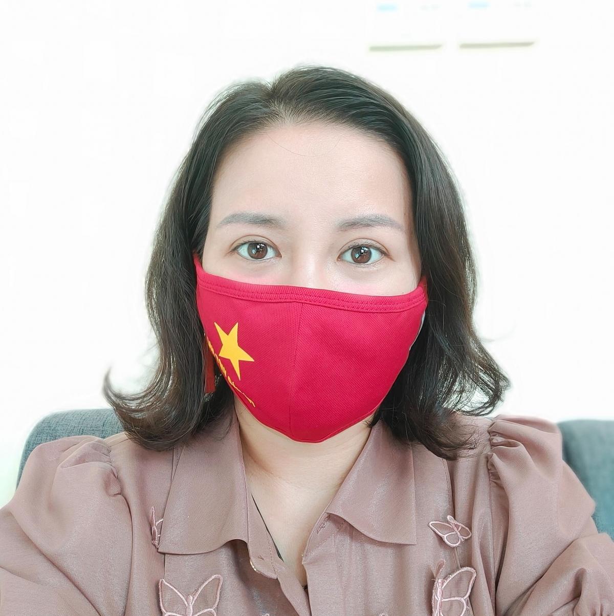 Bà Nguyễn Thanh Huyền - Phó Ban Dân vận Tỉnh ủy Điện Biên.