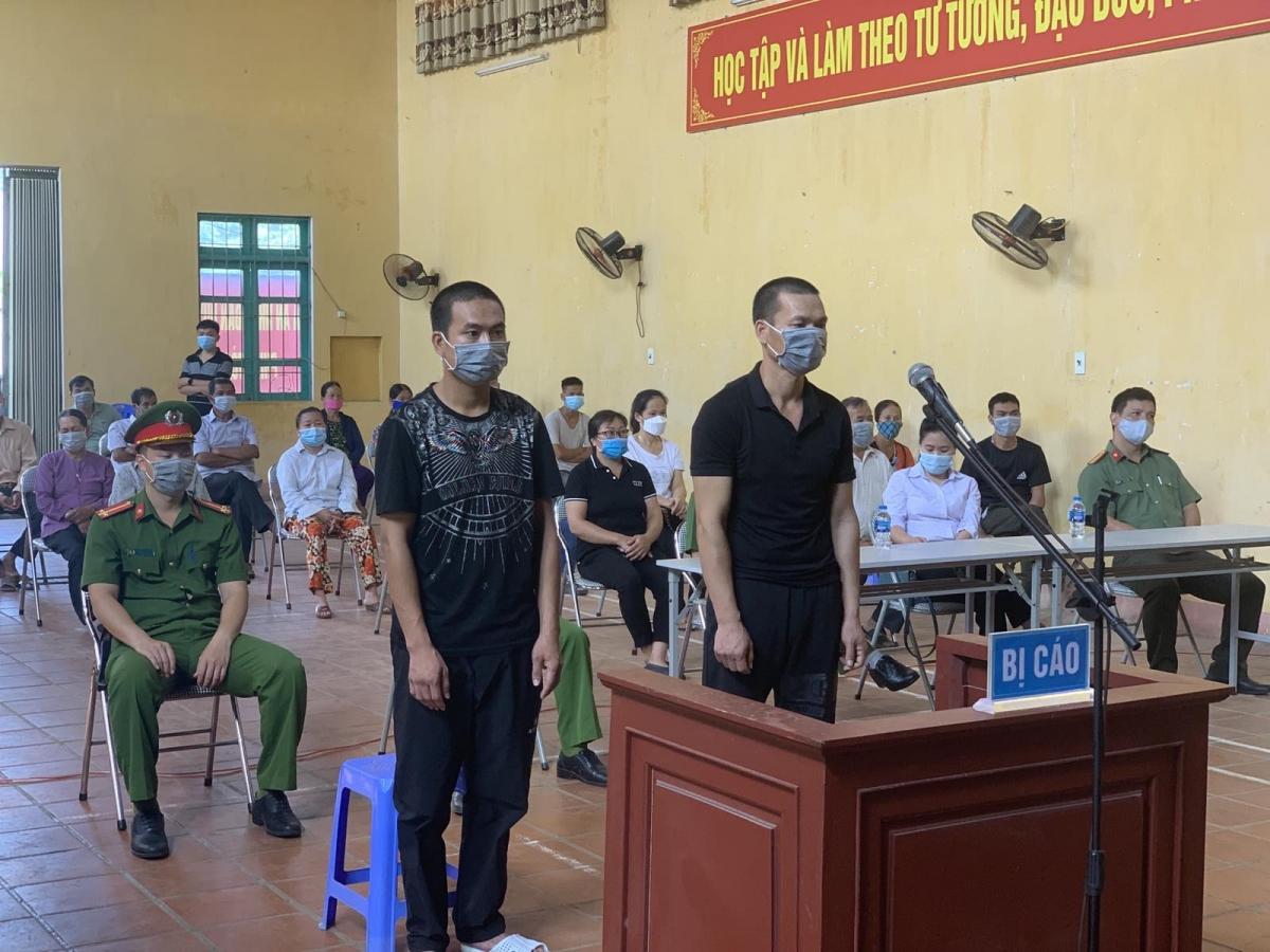 """HĐXX tuyên tổng cộng 27 tháng tù giam cho 2 đối tượng Thi Thể Thao và Lê Trọng Quý về tội """"Chống người thi hành công vụ"""""""
