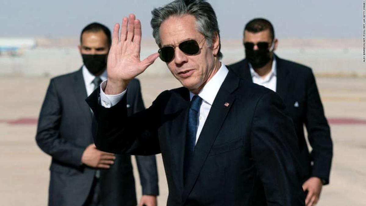 Ngoại trưởng Mỹ Antony Blinken. Ảnh: AFP