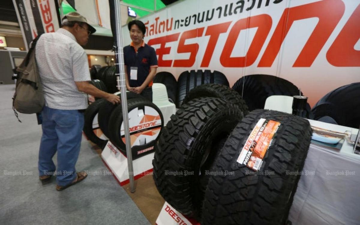Sản phẩm từ cao su, một trong những mặt hàng xuất khẩu chủ lực của Thái Lan. Ảnh: Bưu điện Bangkok