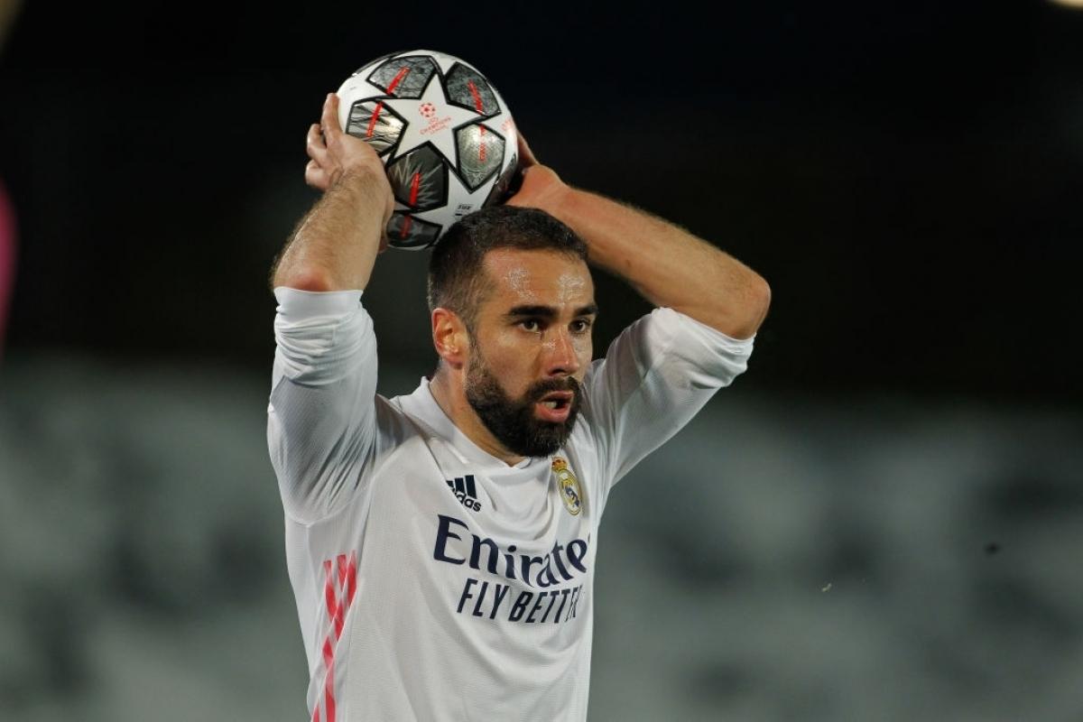 Carvajal sắp gia hạn hợp đồng với Real Madrid (Ảnh: Getty).
