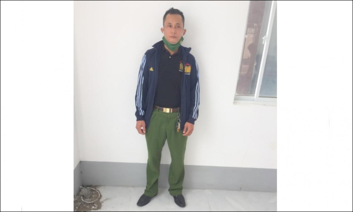 Qua đấu tranh, Nguyễn Thái Sơn - đã thừa nhận hành vi mua trang phục công an trên mạng