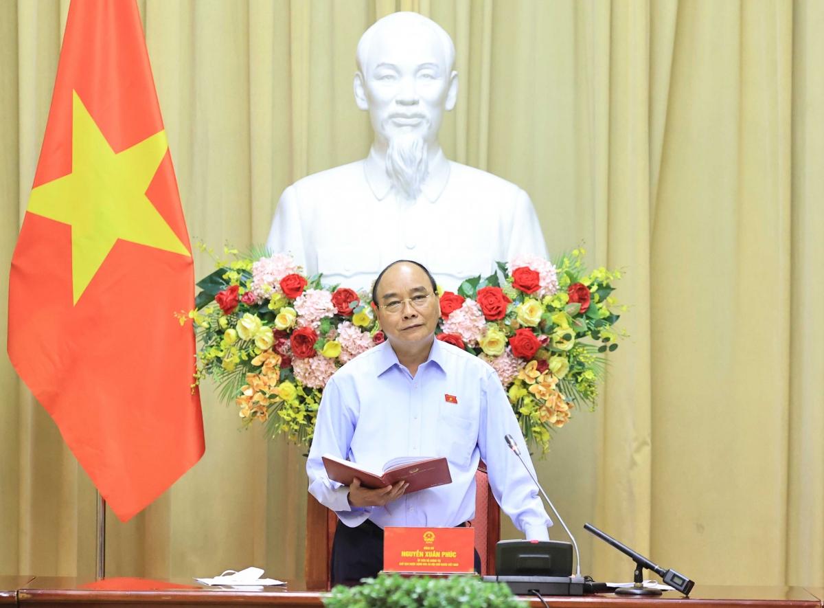 Chủ tịch nước Nguyễn Xuân Phúc đánh giá cao các Hội đã tổ chức nhiều hoạt động có ý nghĩa với các gia đình liệt sĩ, thương binh, nạn nhân chất độc da cam.