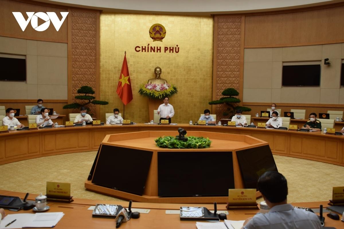 Toàn cảnh phiên họp Chính phủ thường kỳ tháng 6.
