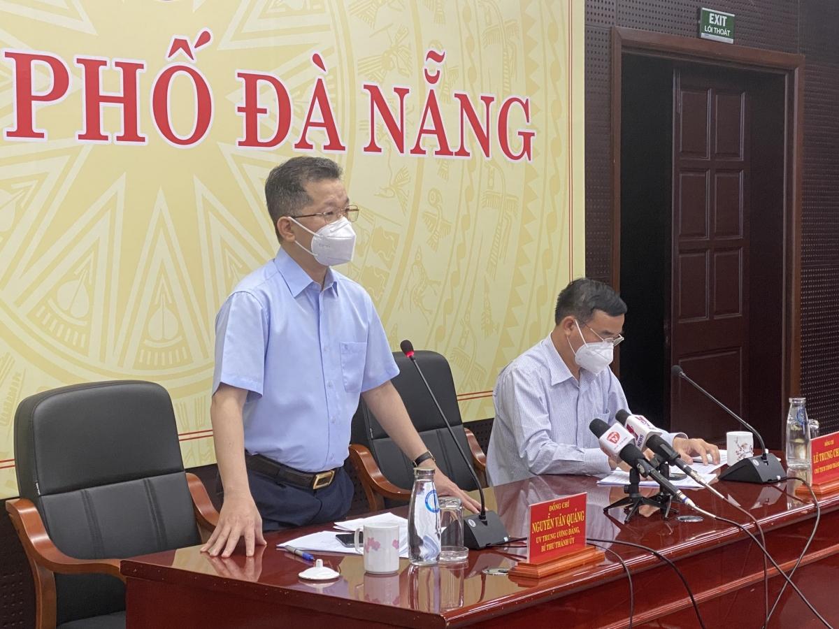 Ông Nguyễn Văn Quảng, Bí thư Thành ủy Đà Nẵng kêu gọi người dân ủng hộ chủ trương của thành phố