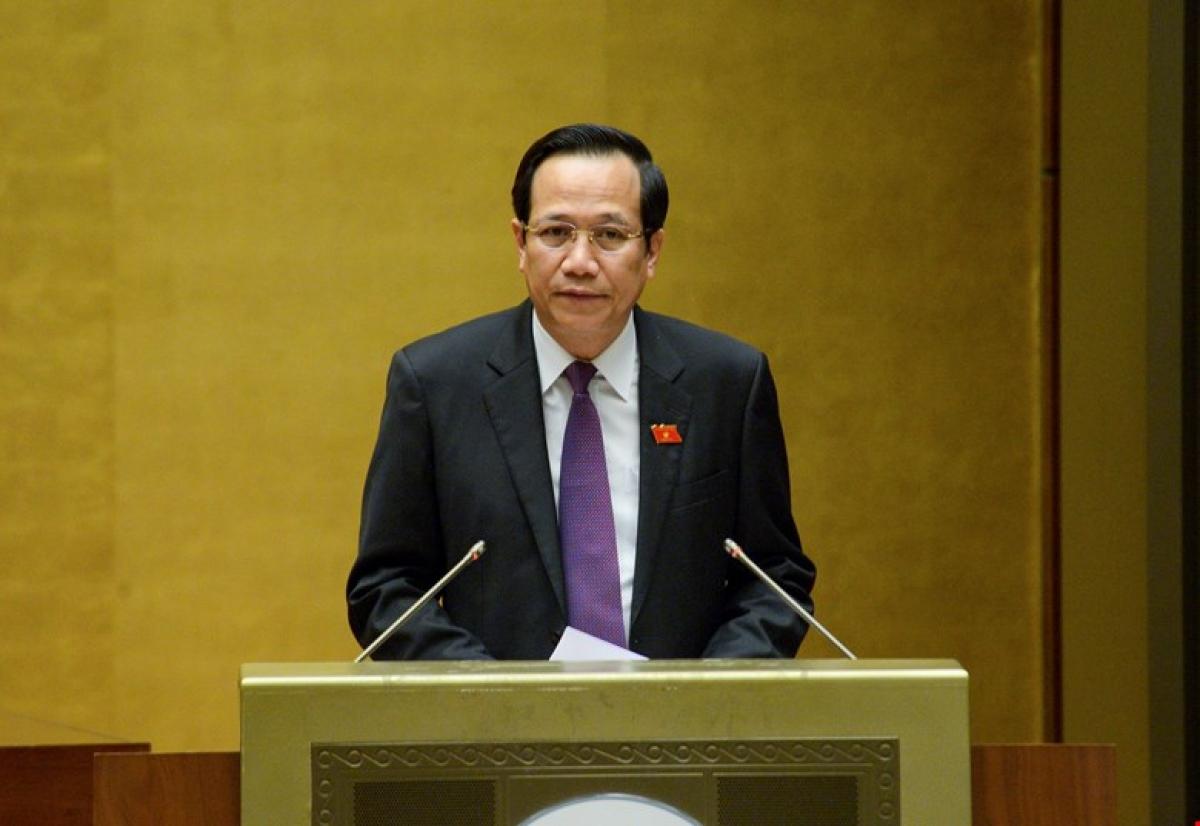 Bộ trưởng Bộ LĐ-TB-XH Đào Ngọc Dung