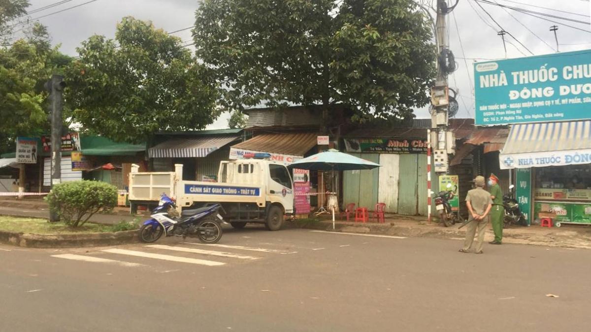 Lực lượng chức năng tỉnh Đắk Nông kiểm soát phòng chống dịch bệnh Covid-19