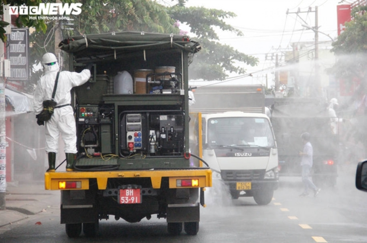 The chemical force is on hand to co-ordinate with local authorities to ensure that security and traffic safety are maintained throughout the entire city.